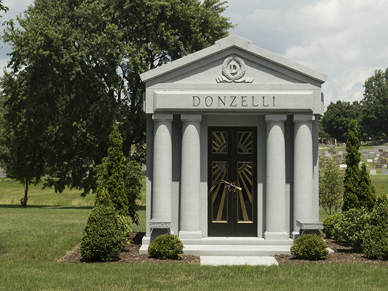 Family Mausoleum at Holy Cross Akron